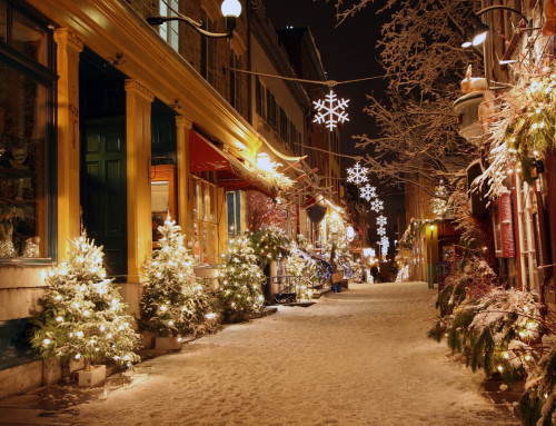 "Old Québec City ""Christmas Markets"" – December 2021"