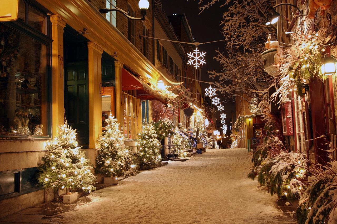 "Old Québec City ""Christmas Markets"" – December 2021"